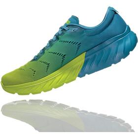 Hoka One One Mach 2 Buty do biegania Mężczyźni, storm blue/lime green